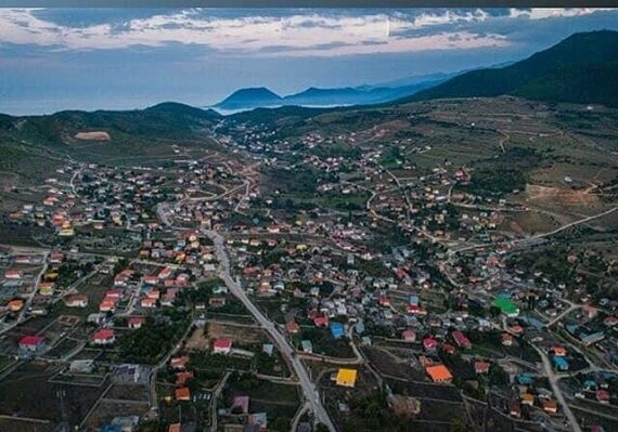 ارتفاع روستای کدیر