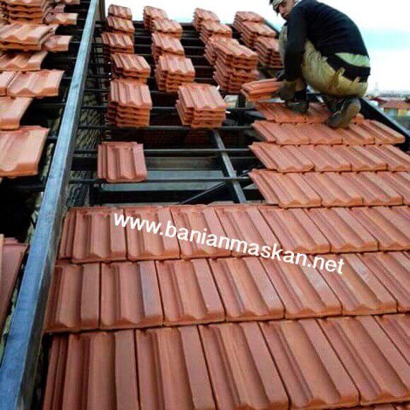 پوشش سقف سفال