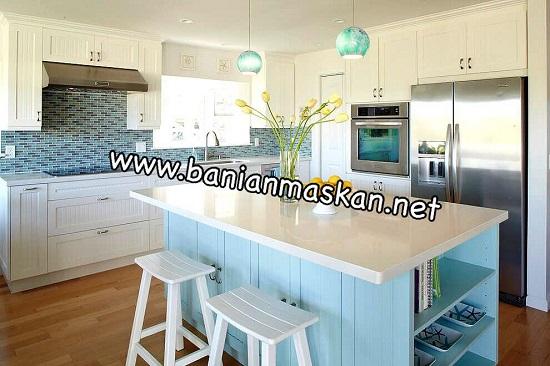 بهترین رنگ های مورد استفاده در آشپزخانه یک ویلا در شمال