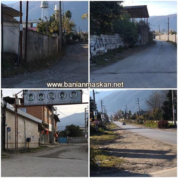 ورودیهای روستای توسکاتک